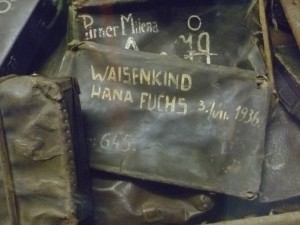Hana Fuchs' suitcase