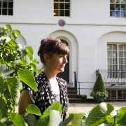 Martina Evans, poet & novelist at Keats House on 7.Aug. 2013